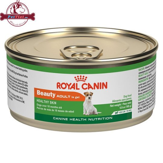 Thức ăn ướt cho Chó - Pate Royal Canin - Beauty Adult in gel canned dog food for toy and small dogs