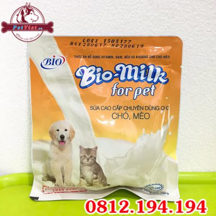 Sữa bột Bio Milk For Pet