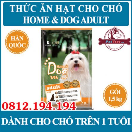 Home and Dog Adult túi 1,5kg