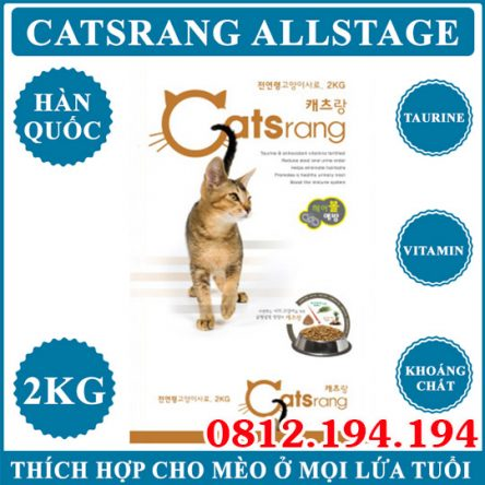 Catsrang All Stages 2kg 5kg