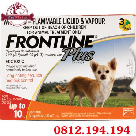 Thuốc nhỏ Gáy Frontline Plus For Dogs