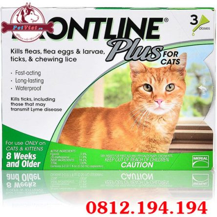 Thuốc nhỏ Gáy Frontline Plus For Cats